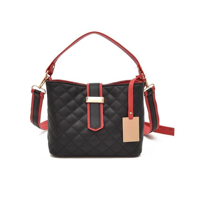 2aafc7b71b9e Women Quilted Bags Caviar Leather Tote Bag Panelled Crossbody Luxury Designer  Handbags Female Messenger CC Bags Sac Femme A Main