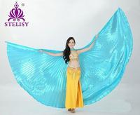 2015 Hot Selling Women Belly Dance Isis Wings Oriental Design New Wings Without Sticks
