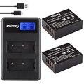 2X NP-W126 Bateria Da Câmera Bateria Batterie AKKU + LCD USB carregador para fuji film finepix hs30exr hs33exr x-pro1 x-e1 x-e2 X-M1