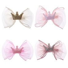 Hot Sell Children Kids Hairpin Cute Crown Girls Hair Accessories Jewelry Festival Gifts