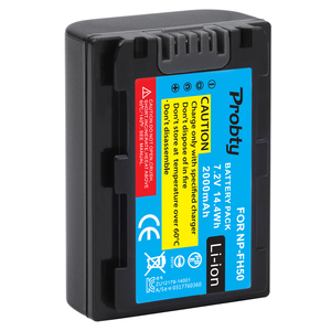 Image 1 - NP FH50 NP FH50 NPFH50 camera Battery For Sony FH70 FH100 A230 A330 A290 A380 Alpha DSLR DSC HX1 HX100 HX100V HDR TG1E TG3 TG5
