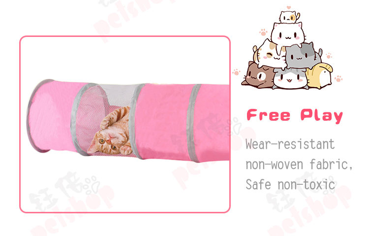 cat toys tunnel tent YBCW-049-05