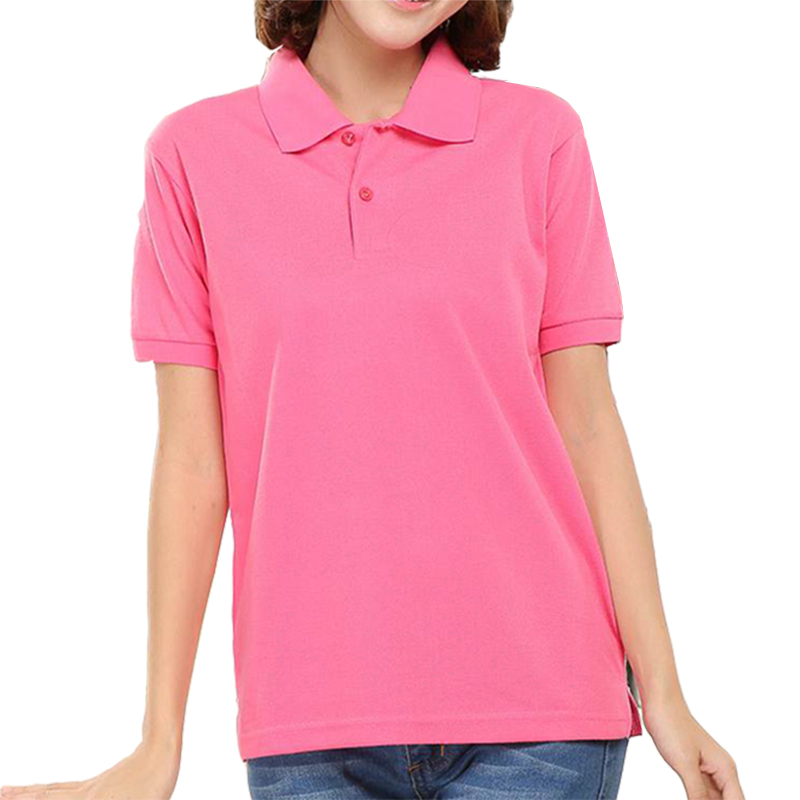 Brand Solid Women Thicker Polos Short-sleeved Summer Cotton Leisure Female Casual Plus Size Woman Quick Dry Polo Shirt 3XL