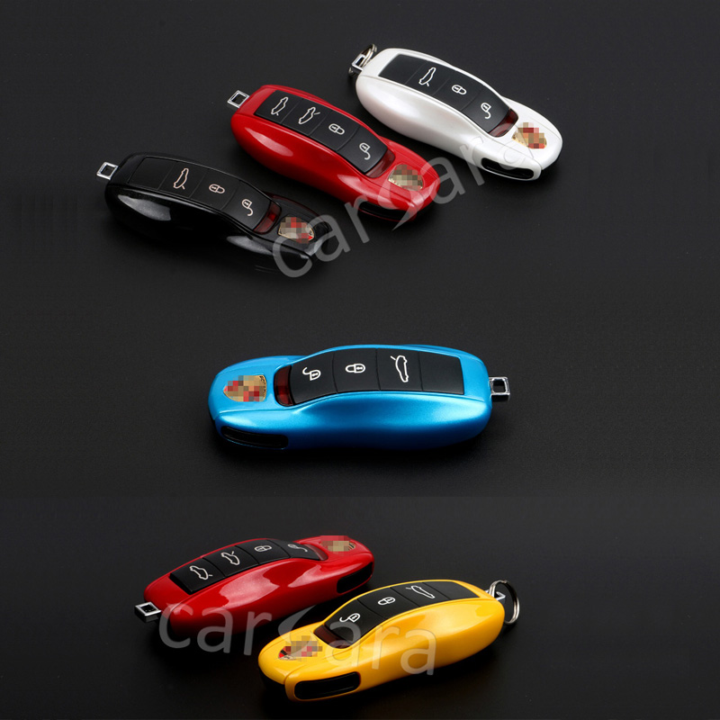 <font><b>key</b></font> case Protective Shell for Porsche cars with original pearl powder tone style 9 optional color
