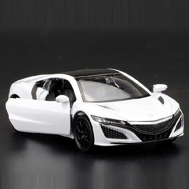 High Simulation Exquisite Diecasts&Toy Vehicles: RMZ city Car Styling Honda Acura NSX Supercar 1:36 Alloy Diecast Model Toy CarDiecasts & Toy Vehicles