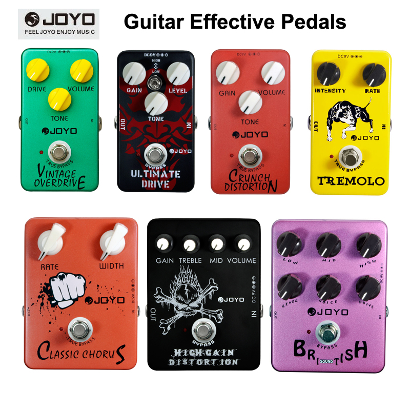 joyo series guitar pedal effect pedals vintage overdrive ultimate drive crunch distortion. Black Bedroom Furniture Sets. Home Design Ideas