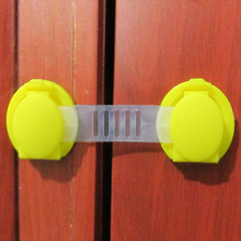10pcs/Lot Drawer Door Cabinet Plastic Locks