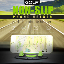 2016 golf Universal Magnetic Car Mobile Phone Holder Stand for iPhone 5s 6s 6 plus for Samsung Galaxy s7 edge Note 7 Oneplus 3