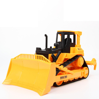 Inertial bulldozer with large shoveling bulldozer model toys Farmland Engineering car Tractor farmer's toy car Toys for children