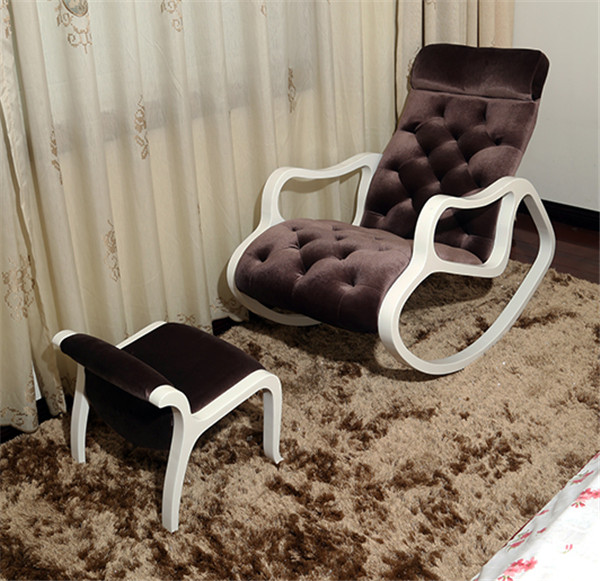Living Room Furniture Rocking Chairs popular modern rocking chair-buy cheap modern rocking chair lots