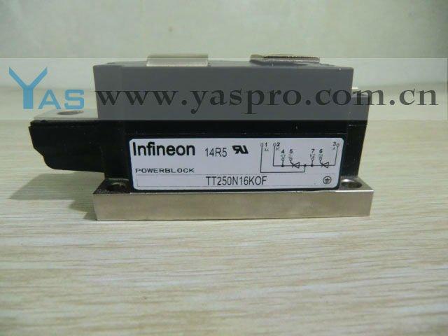 Модуль тиристора TT250N16, TT250N16KOF, TT250N16KOF-7FO, TT250N16KOFAK34