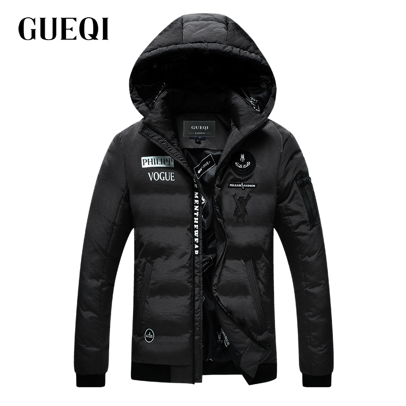 Подробнее о GUEQI 2017 Men New Winter Jacket Brand Clothing Warm Casual Solid Men's Popular Hooded Parkas For Male Jackets Outwear Coats 868 gueqi 2017 men winter jacket brand clothing warm fashion casual solid men s popular parkas for male jackets outwear coats 6867