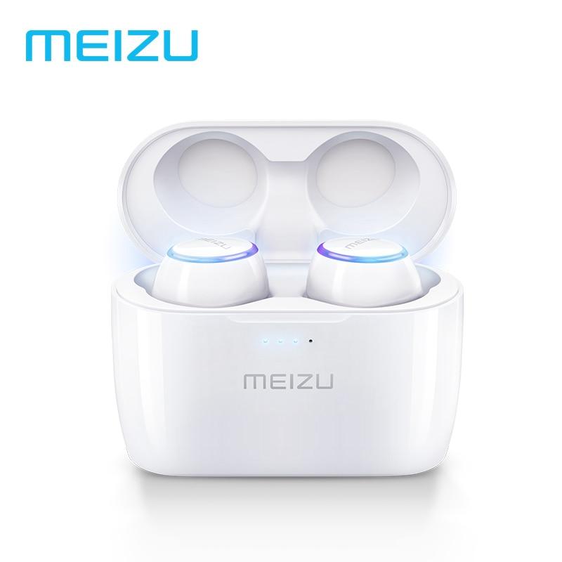 все цены на Original Meizu POP TW50 Dual Wireless Earphones Bluetooth Earphone Sports In-Ear Earbuds Waterproof Headset Wireless Charging онлайн