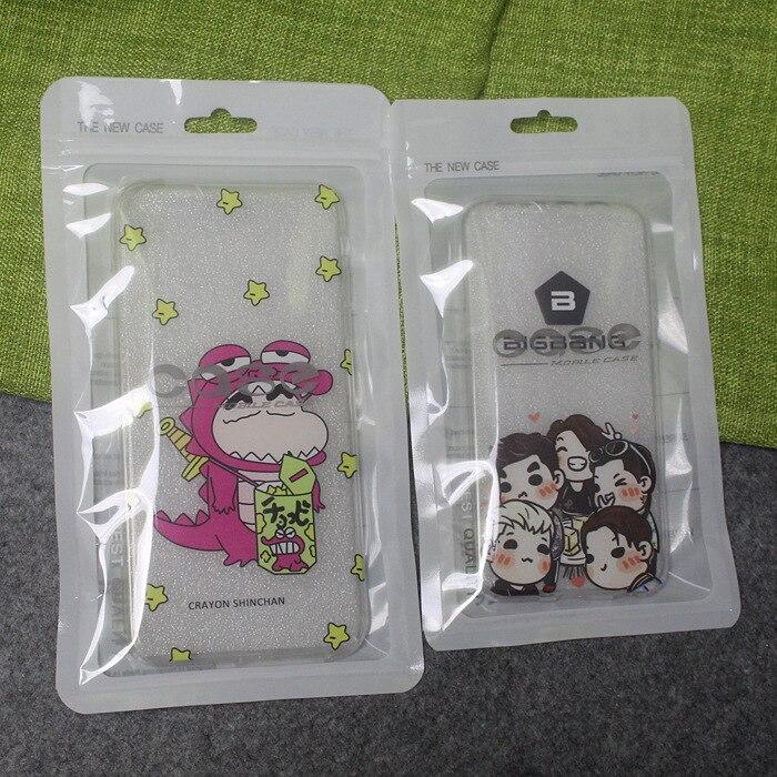 Новый мобильный телефон Чехол Розничная упаковка пакет сумка для хранения для iphone 4 4S 5 5S 6 Plus пластиковые ziplock поли пакеты белый