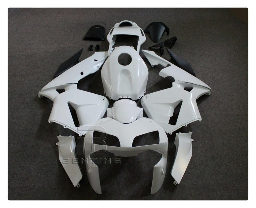 Motorcycle Unpainted White Fairing Bodywork Kit For HONDA CBR600RR CBR 600RR CBR600 RR 2003-2004 ABS Plastic +3 Gift for honda cbr 600 rr 2003 2004 injection abs plastic motorcycle fairing kit bodywork cbr 600rr 03 04 cbr600rr cbr600 rr cb58