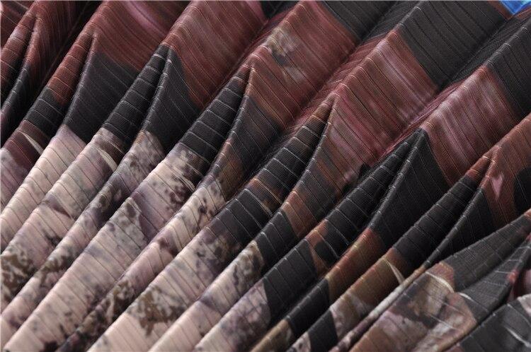 Limitée Dame Per Chemises Color Élégante Tops Impression Femmes Mode D'été Porter Pull Qualité Nouveau Haute Plissée Lâche qgwZ8t