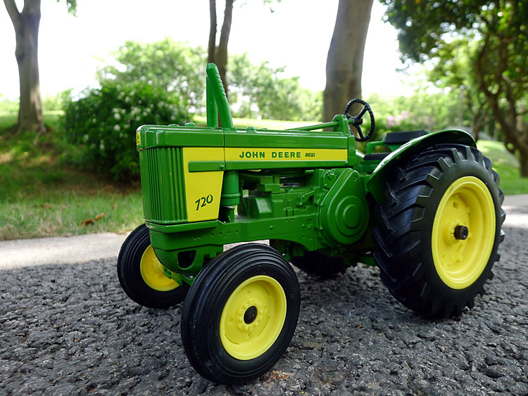 KNL HOBBY J Deere 720 farm tractor alloy car models US ERTL 1:16 special clearance gifts 1 32 ros fiatagri g240 tractor models alloy car models favorites model