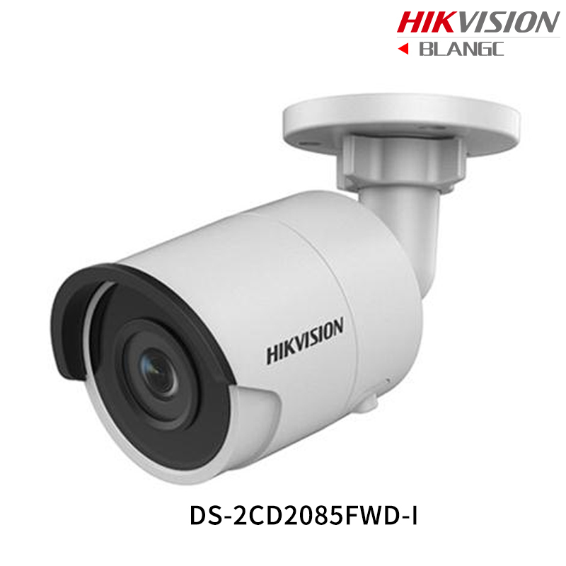 Hikvision Hik 4K Original English Security Camera DS-2CD2085FWD-I 8MP H.265+Mini Bullet CCTV Camera outdoor IP Camera POE 1080P hikvision 3mp low light h 265 smart security ip camera ds 2cd4b36fwd izs bullet cctv camera poe motorized audio alarm i o ip67