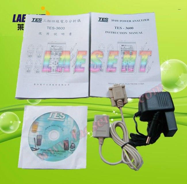 3p4w power quality analyzer tes 3600 new 100% wholesale & retail.