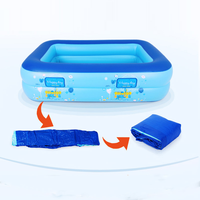 Inflatable Baby Swimming Pool Eco Friendly Pvc