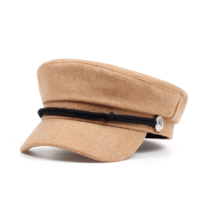 VORON Original Design Women Men Beret Hat Fashion Flat Navy Berets Cap Hat Brand Hats Casual Caps Wholesale