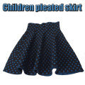 Autumn Winter Blue Dot Knitting Skirt Girls Skirts Princess Skirts Tutu Girl Child Clothing Kids Skirts Children Clothing