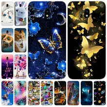 Soft Silicone Cover For Samsung J3 J5 2017 Case Printing Cute Back Cover For Samsung Galaxy J 3 5 530 330 F 2017 Phone bags Capa(China)