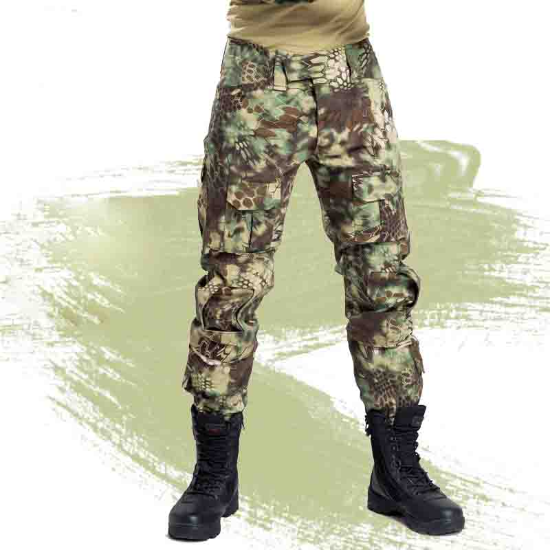 Frog suit ACU CP High quality Clothing Camouflage Tactical Hiking Pants Airsoft outdoor Camping & Hiking Men Army Trouser