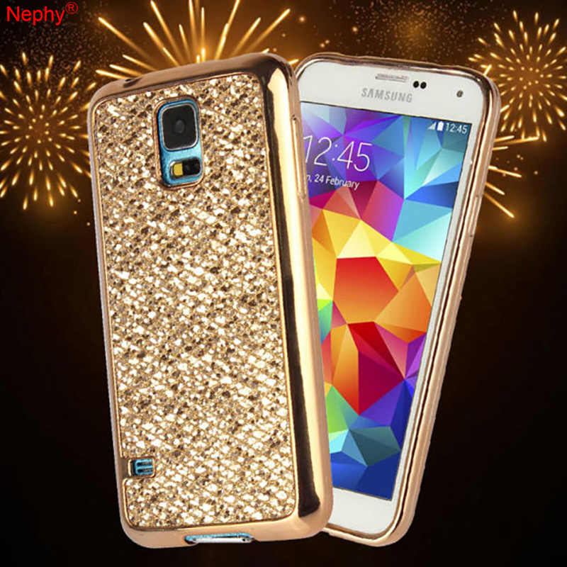 Bling Flash Glitter Powder Cell Phone Case For Samsung