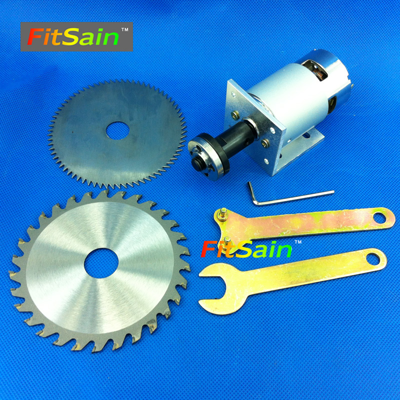 FitSain-775 motor DC24V 8000RPM Center hole 16 or 20mm circular saw blade for wood cutting disc mini table electric saw sawing 10 60 teeth wood t c t circular saw blade nwc106f global free shipping 250mm carbide cutting wheel same with freud or haupt