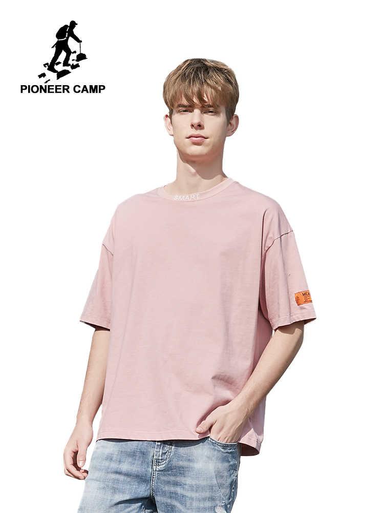 Pioneer Camp европейские размеры модные бренды длина свободные с буквенным принтом