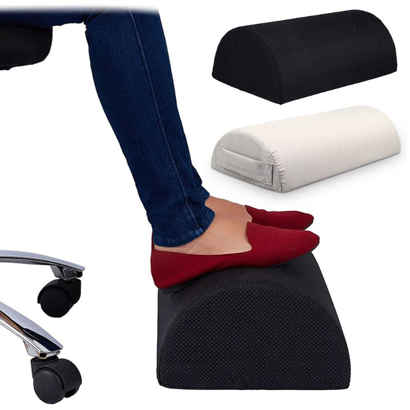 Multi-functional Feet Pad Office Home Foot Rest Mat Footrest Relax Cushion Pad Travel Support Semi-circular Mats GiftsMulti-functional Feet Pad Office Home Foot Rest Mat Footrest Relax Cushion Pad Travel Support Semi-circular Mats Gifts