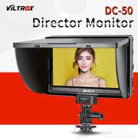 Viltrox DC 50 Viltrox DC 50 portátil de 5 pulgadas de pantalla 480 P Clip en Color LCD Monitor HDMI Cámara estudio de foto Accesorios