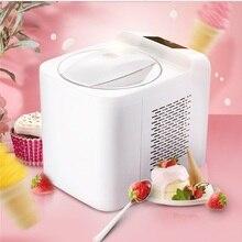 1Л Бытовая полностью автоматическая машина для приготовления мягкого твердого мороженого, интеллектуальный сорбет, фруктовый йогурт, льдогенератор, десерт