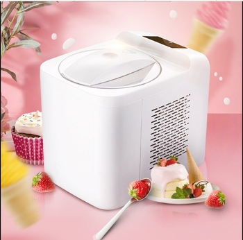 1L gospodarstwa domowego w pełni automatyczny miękki twardy maszyna do lodów inteligentny Sorbet jogurt owocowy kostkarka do lodu deser Maker tanie i dobre opinie SUSWEETLIFE 500-1000 ml 130 w Własny chłodzenia 800ML