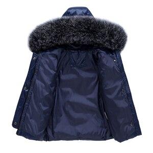 Image 5 - 2020 new Winter Baby Boy Girl clothing Set warm Down Jacket coat Snowsuit Children parka Kids Clothes Ski suit Overalls overcoat