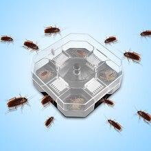 Бытовая эффективная коробка для ловушек против тараканов, многоразовая ловушка для уничтожения тараканов, ловушка для ловушек, ловушка для наживки, пестицид, кухонный инструмент