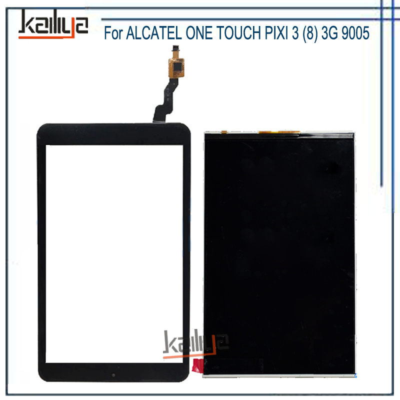 8/'/' inch Digitizer Touch Screen Panel glass For ALCATEL ONETOUCH EVO 8HD