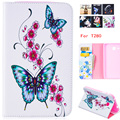 New Fashion High Print PU Leather Case for Samsung Galaxy Tab A 7.0  Case T280 T285 SM-T280 SM-T285 Smart Tablet Cover