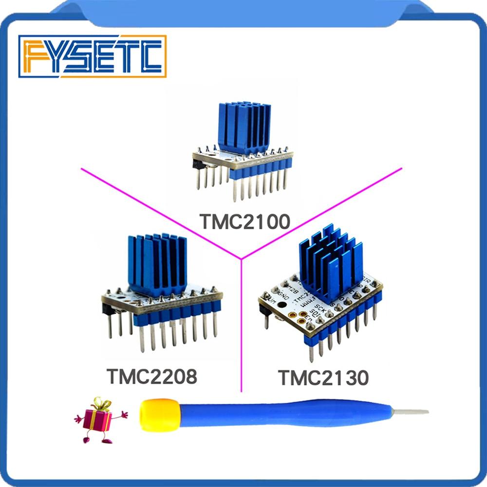 Tmc2100 V1.3 tmc2130 tmc2208 V1.0 Шаговые двигатели StepStick Mute водителя Тихая превос ...