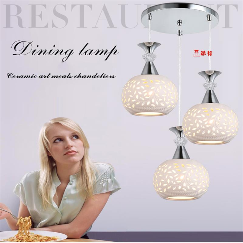 LED Modern Dining Room Ceramic Loft 3 light chandelier Restaurant Kitchen Lights Lighting Fixture battlefield 3 или modern warfare 3 что
