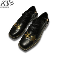 Luxury Designer New Arrival Women Leather Dress Shoes Really Leather Shoes Fashional Patent Genuine Leather Comfortable