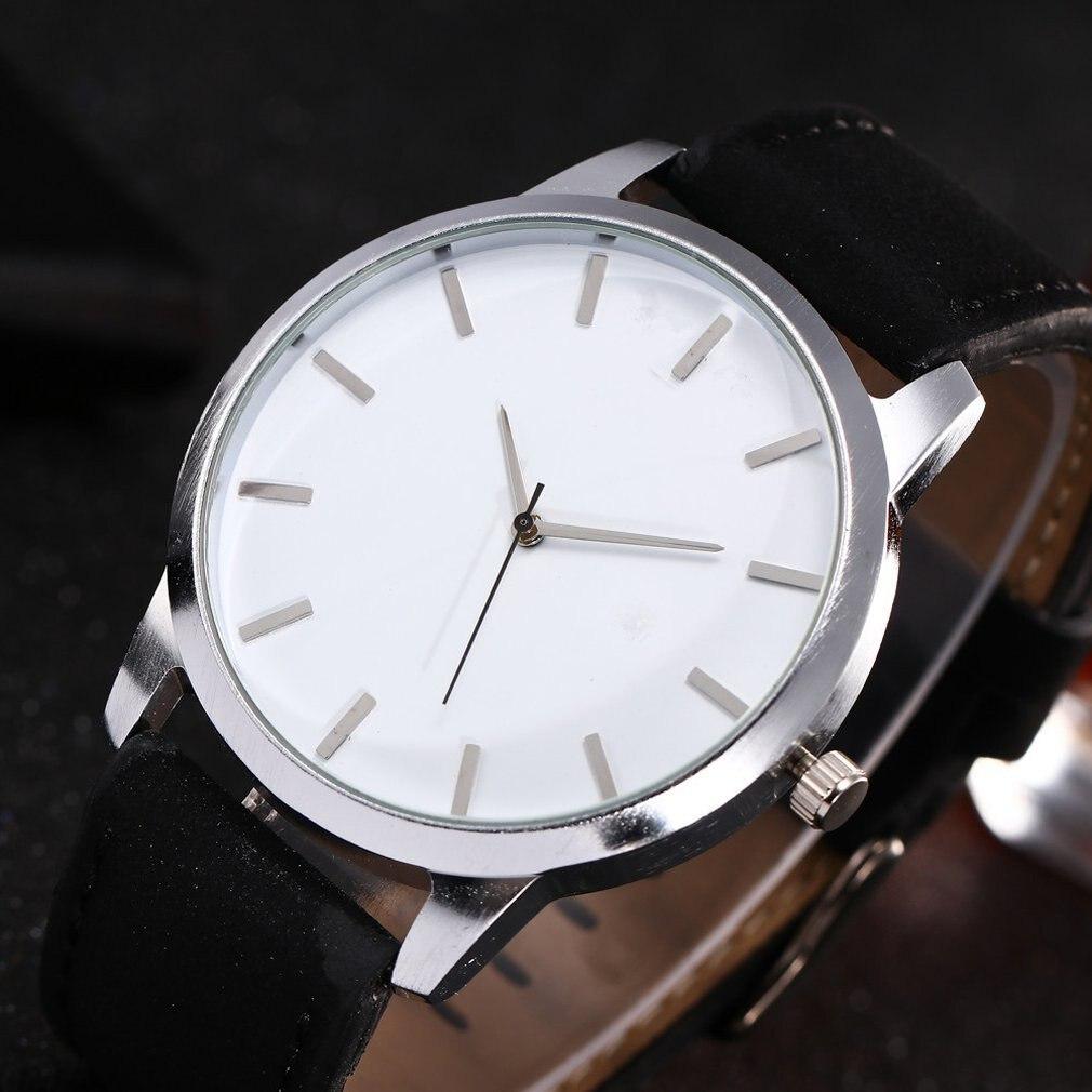 Men Watch Luxury Brand Watches Quartz Clock Fashion Minimalism Leather Belts Watch Sports Wristwatch HOT SALE Dropshipping