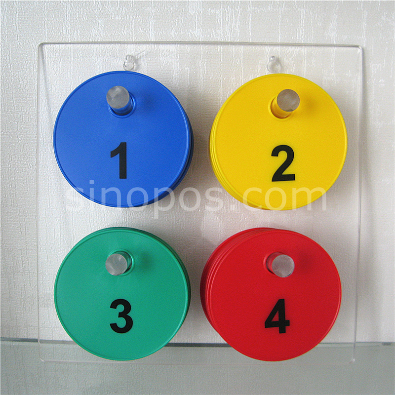 Fitting Room Disc Set with Holder
