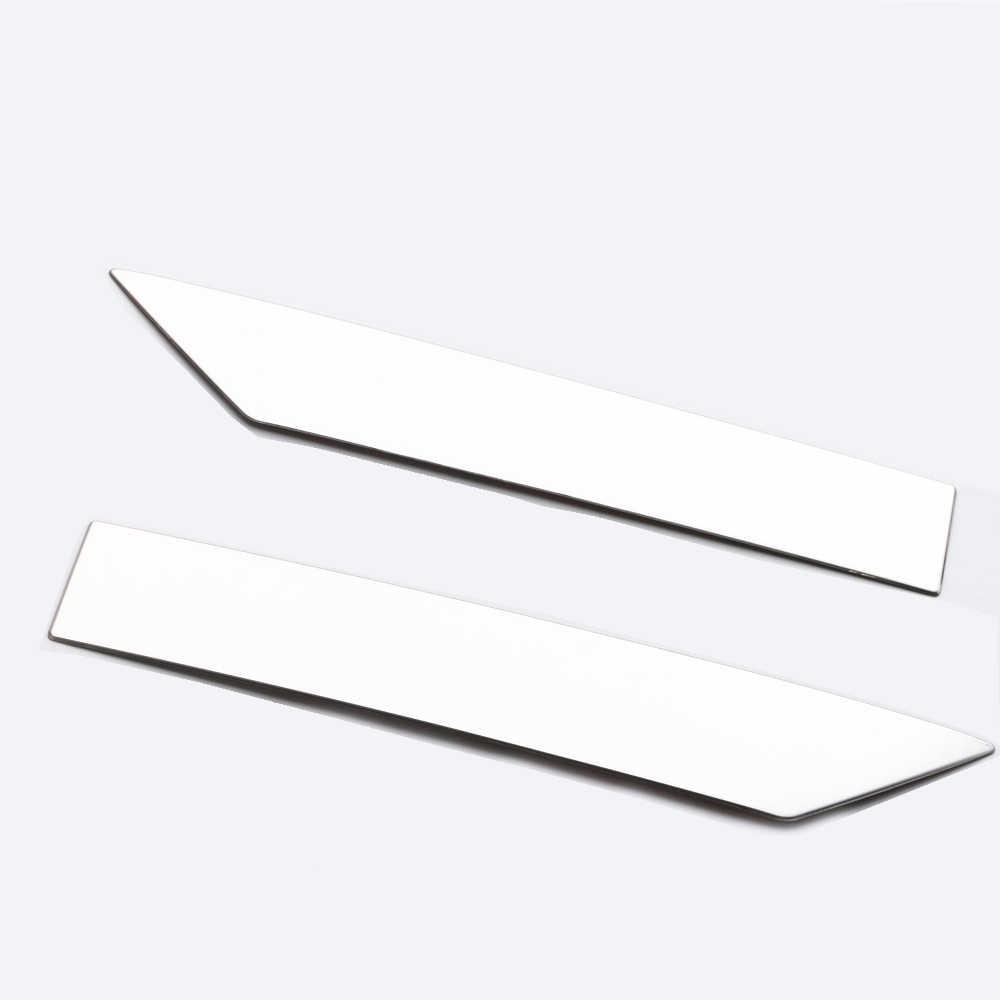 JY SUS304 Rvs Front GEEN. plaat Gieten Trim Auto Styling Cover Accessoires Voor TOYOTA AQUA NHP10 2017 OP