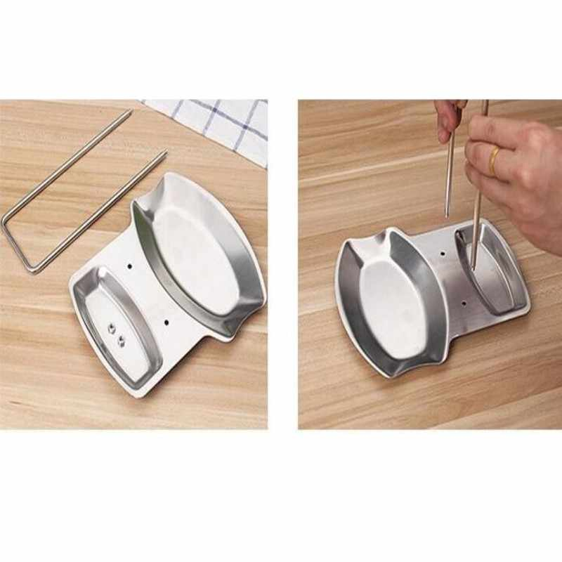 SAFEBET Da Cucina di Marca Organizzatore di Stoccaggio In Acciaio Inox Rack Pentola Coperchio Cucchiaio Forchetta Posate Mensola Cucina Creativa Organizer Rack