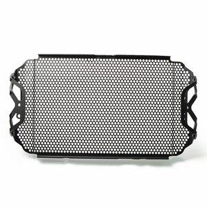 Image 3 - MT 09 fz09 13 16 Siyah Motosiklet Radyatör Guard Koruyucu Izgara ızgara kapağı YAMAHA fz 09 mt 09 13 16 MT 09 FZ09 2013 2016