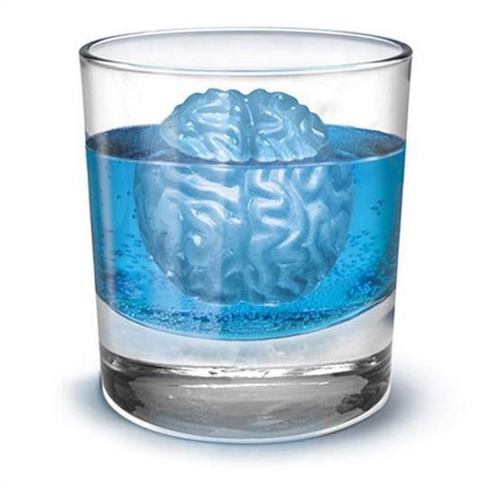 Заморозка мозгов кубики льда 4 форма мораторий кубик льда лоток, Бар ну вечеринку Lego романтический коктейльный ну вечеринку для пить фокусы чайник