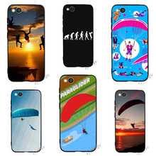 Pattern Paragliding Paraglider Phone Cover for Redmi 4X Case 4A 5 Plus 5A Prime 6A Note 6 Pro 7 Xiaomi Mi A1 A2 Lite 8 9se Back