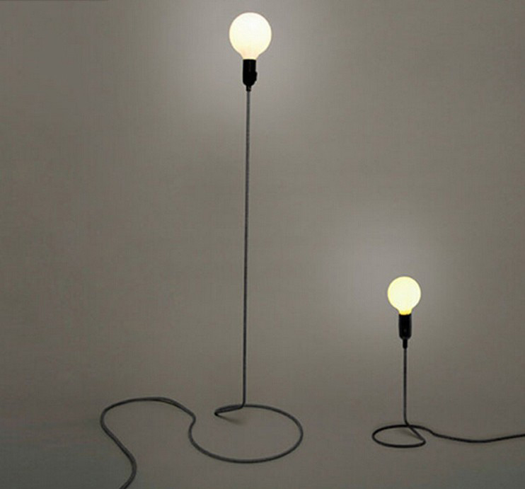 Loft Retro Minimalist Modern Floor Lamp Living Room Dining